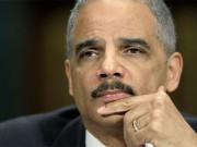 U.S. Attorney General Eric Holder listens to a question at a hearing of the Senate Judiciary Committee on Capitol Hill in Washington