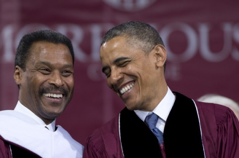 President Of Everyone Except Black People Gives Race Speech at Morehouse