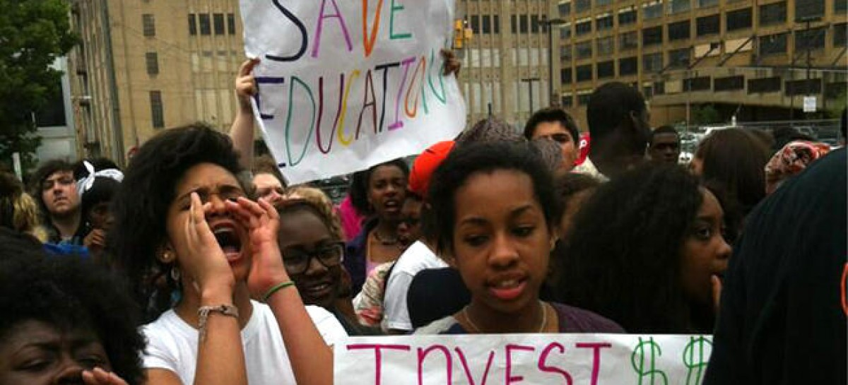 Hundreds of Philly Students Walk Out of Class to Protest Budget Cuts