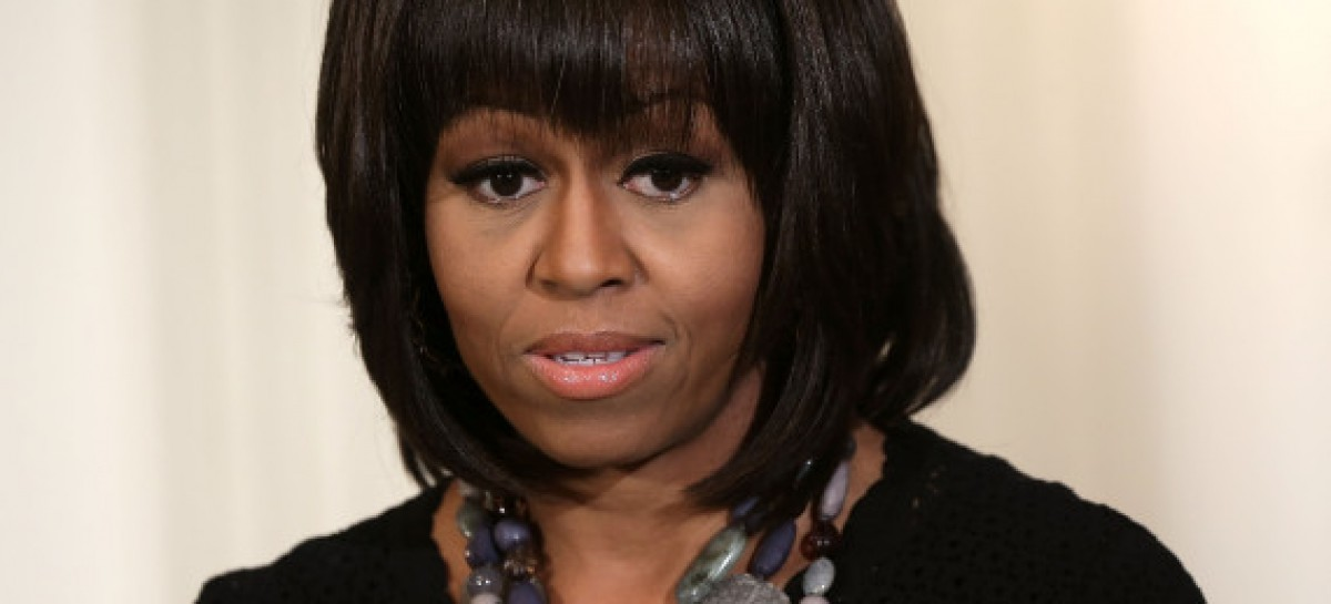 [UPDATED] Michelle Obama Gets in the Face of Heckler, Forces Her to Leave