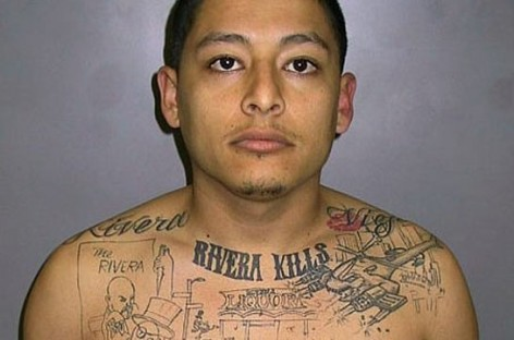 Gang Member Convicted of Murder After Tattooing Crime Scene on His Chest
