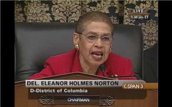 "Eleanor Holmes Norton: Democrats Who Don't Want Obama ""Shamed and Humiliated"" Will Support Syrian Strikes"