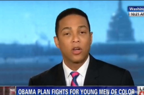 Say What? CNN's Don Lemon: 'Yesterday, Obama Became the Black President'