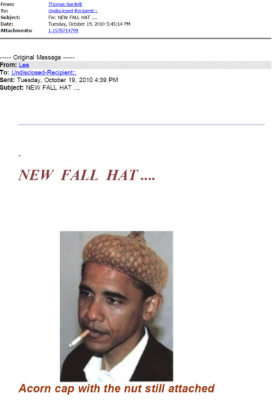 Obama Acorn Hats and Welfare Dogs: Racist Emails From Gov. Scott Walker's Staff