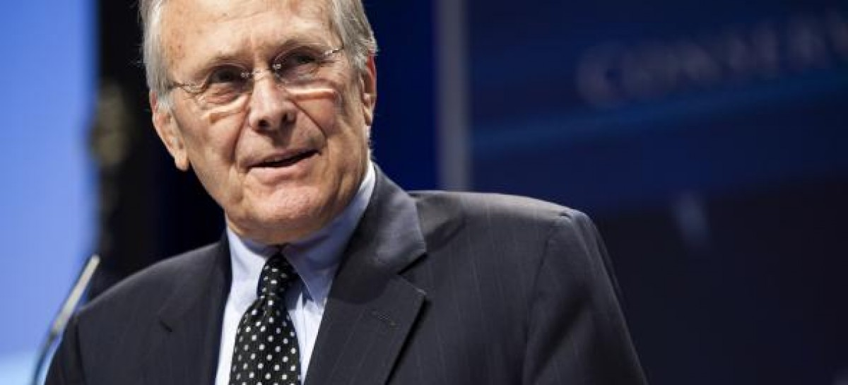 "Obama is Worse Than a ""Trained Ape"", Says Former Defense Sec. Donald Rumsfeld"