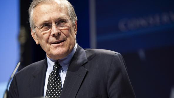 """Obama is Worse Than a """"Trained Ape"""", Says Former Defense Sec. Donald Rumsfeld"""