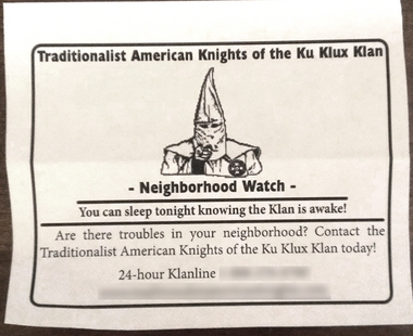 Imperial Wizard Announces KKK Launching Neighborhood Watch