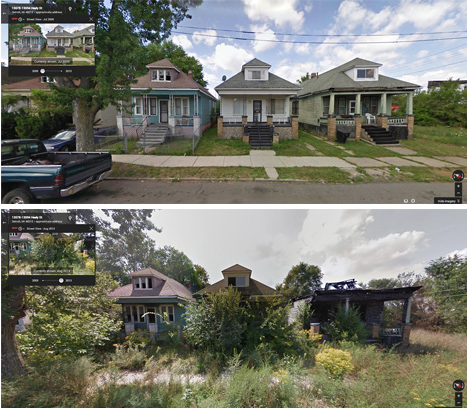 As U.S. Promises $1 Billion to Europe, Watch Detroit Decay in Real Time