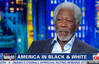 Morgan Freeman Says Race Has No Impact on Income Inequality