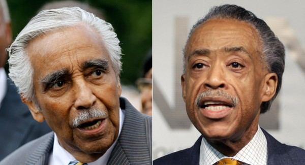 Unelected Street Preacher Al Sharpton Rebukes Rep. Charlie Rangel for Race Baiting