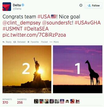 Delta Airlines Apologizes for Using Giraffe as Symbol for Ghana