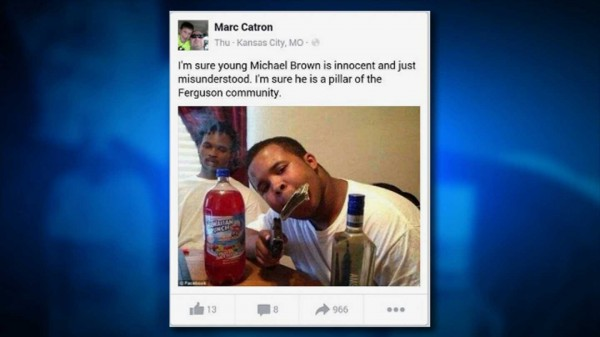 Kansas City Officer Under Review for Posting Fake Michael Brown Photos