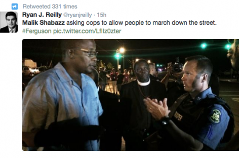 Pastors Blame Malik Shabazz for Escalating Violence, Demand He Leave Ferguson