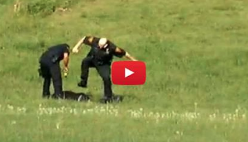 Cop Caught on Camera Stomping Suspect Found Not Guilty of Police Brutality