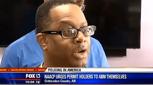 In Response to Police Brutality, NAACP Leader Tells Blacks to Arm Themselves