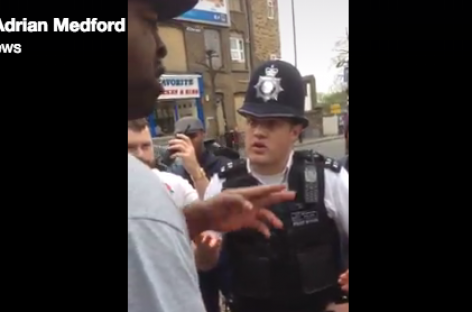 """Shut Up!"": This Black Guy in London Would've Been Shocked or Shot by American Cops"