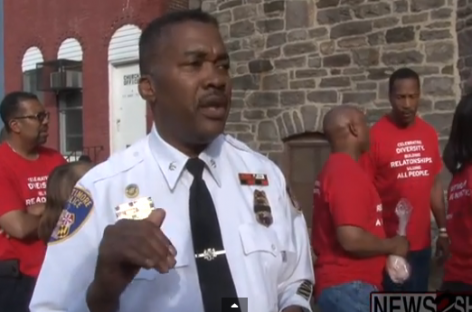 "Baltimore Police Spokesman Blames ""Dark Spirit of Influence"" for City's Violence"
