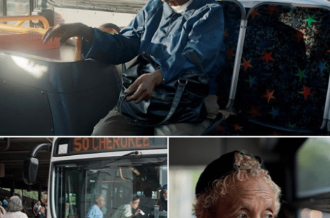 Everyday Dozens of Elderly Black Birmingham Women Catch the Bus to Work for Rich Whites
