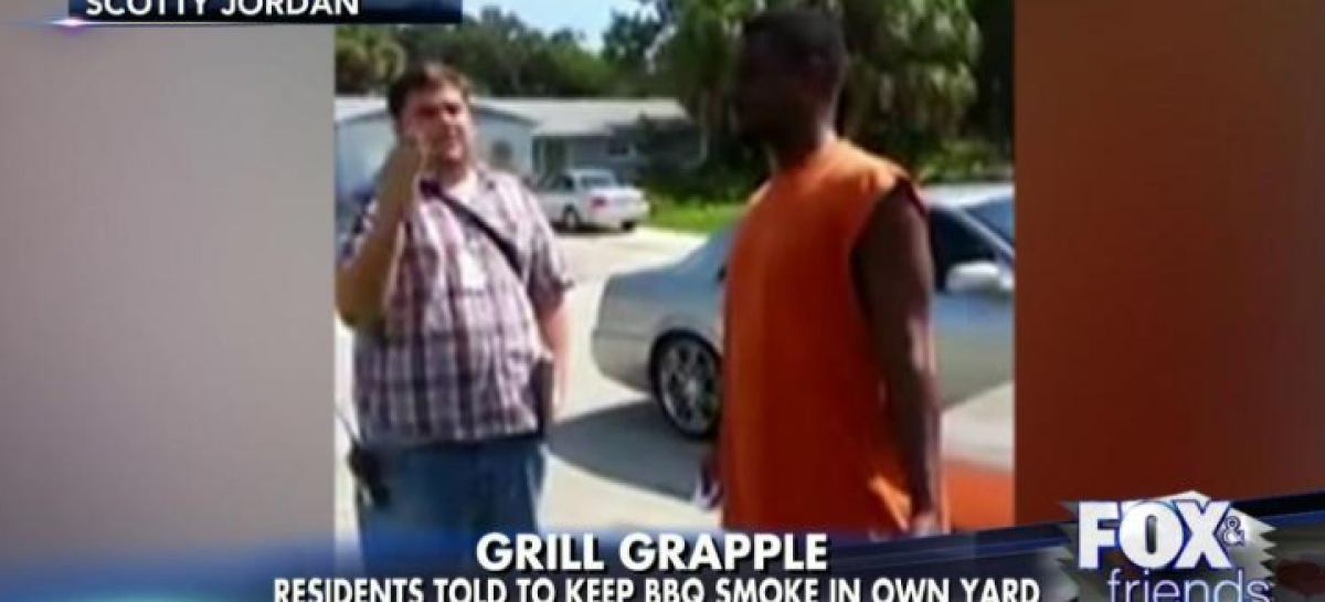 Black Resident Told to Keep BBQ Smell on His Own Property [Video]