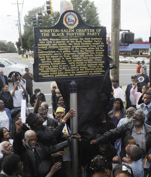 Online Petition Demands Historic Black Panther Marker Be Removed
