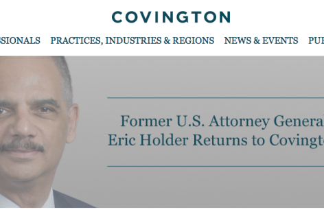 Eric Holder Re-Joins Law Firm Connected to Sub-Prime Crisis That Eroded Black Wealth