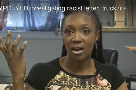 """Black 'B***h,' We Don't Want You Here"": Ohio Woman Receives Racist Letter, Truck Set on Fire"
