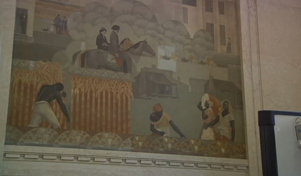 Alabama Mural Depicting African-Americans Picking Cotton on Plantation Remains in Courthouse