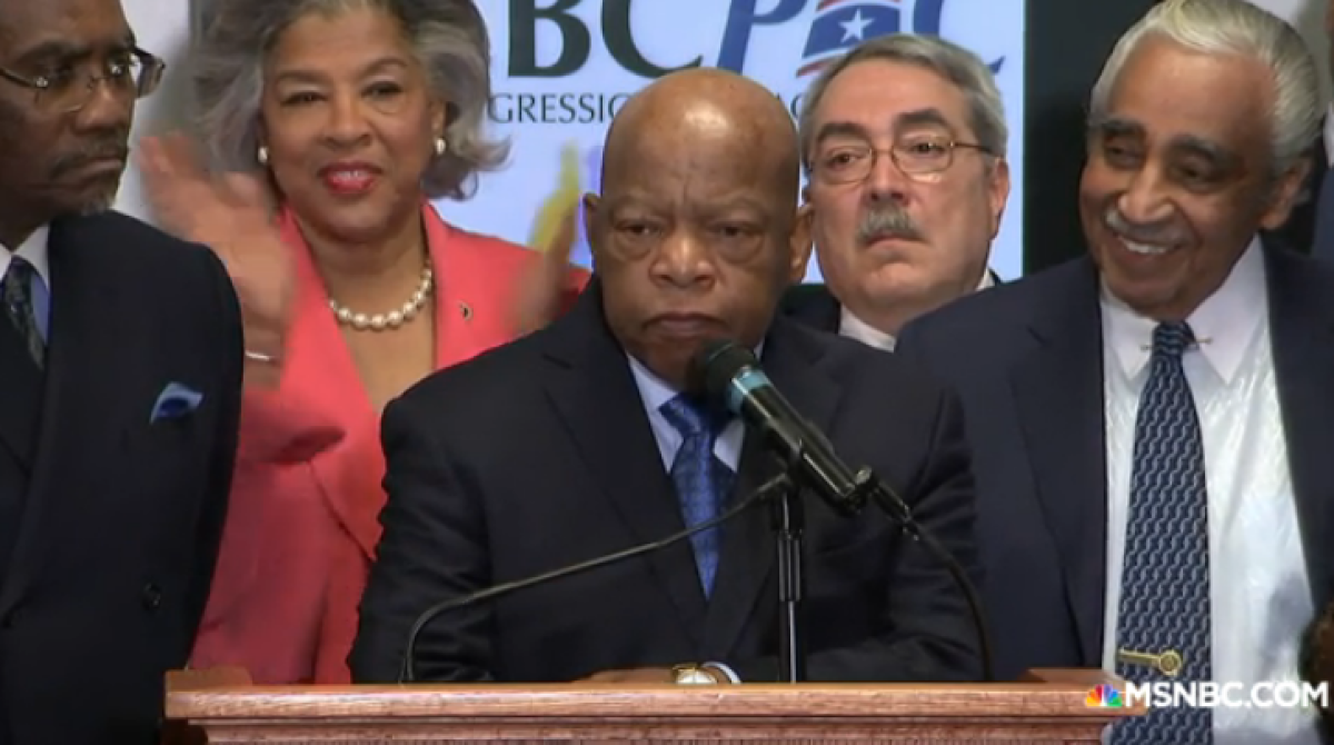 "Rep. John Lewis Backpedals After Slamming Sanders, Never Meant to ""Disparage His Activism"""