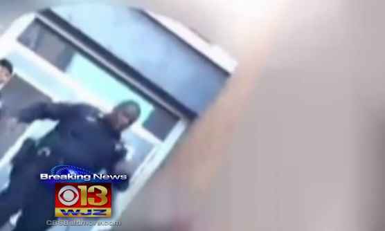 Baltimore Cop Caught Slapping Young Man on Video