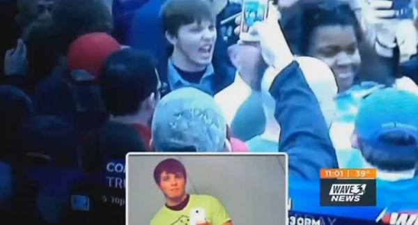 Man Caught Screaming at Black Woman During Trump Rally Kicked Out of Marine Corps