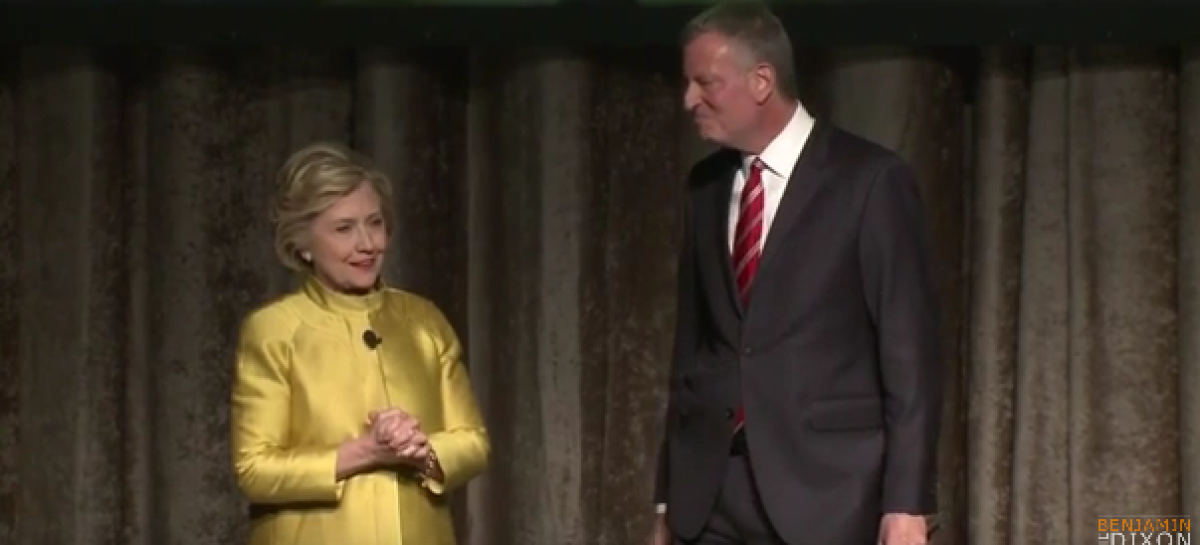"Watch Hillary Clinton and New York's Mayor Joke About Being on ""CP Time"" [Video]"