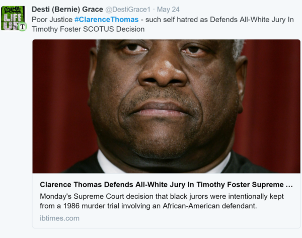 Clarence Thomas is a Black Nationalist Whose Hero is Malcolm X