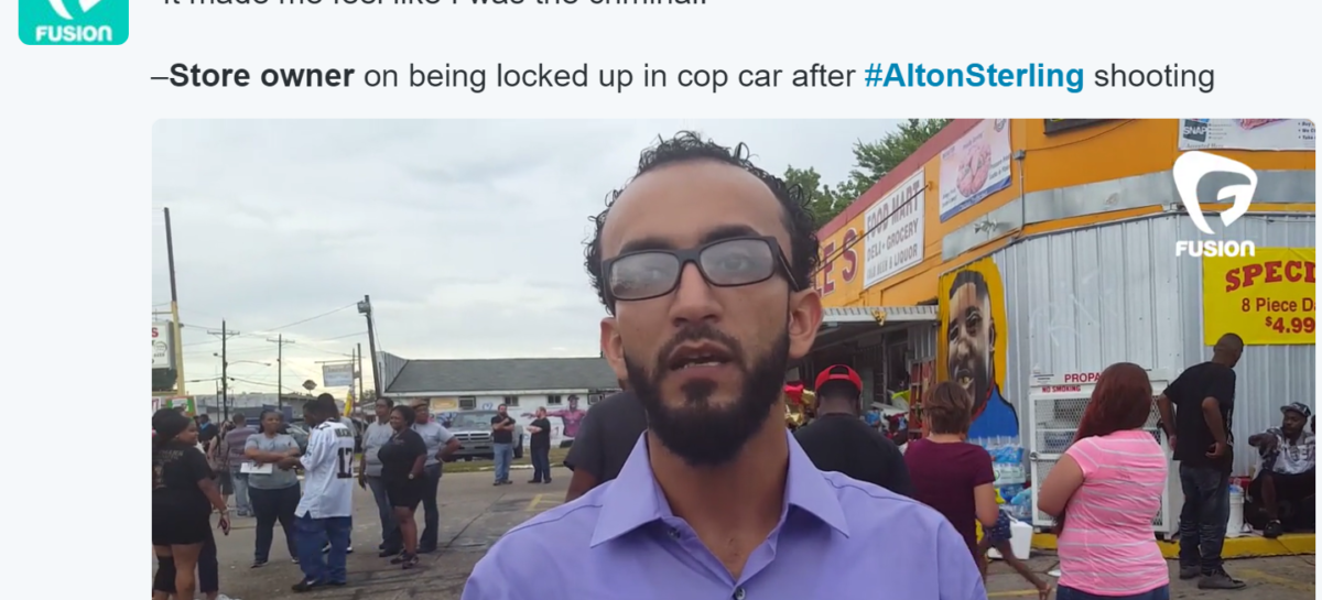 Owner of Store Where Cop Fatally Shot Alton Sterling Sues Police